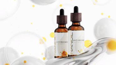 Nanoil soothing face serum for redness